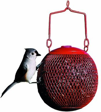 5 - Rsb00343 Red Seed Ball Wild Bird Feeder