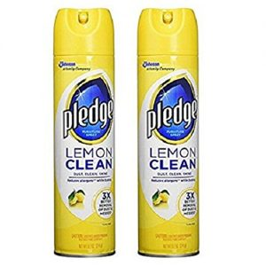 Pledge 2 Pack Lemon Clean Furniture Spray