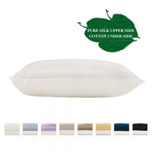 LilySilk Pure Mulberry Silk Pillowcase