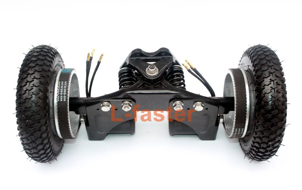"4 Wheels Off Road Skateboard 11 Inch Truck With 8"" Inflation Tyre Motorized Gas Longboard Truck, Off-Road Skateboards"