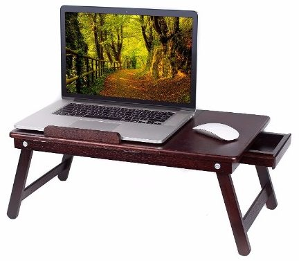 6 - BirdRock Home Bamboo Laptop Bed Tray
