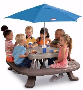 #6 Little Tikes Fold 'n Store Picnic Table