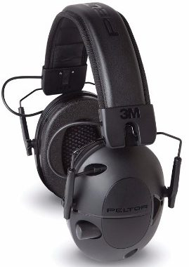 #6 Peltor Sports Tactical 100 Electronic Hearing Protector (TAC100)