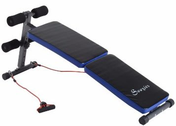 #6 Soozier Adjustable Folding Ab Decline Sit Up Bench