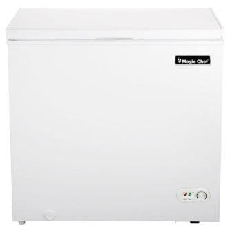 6.9 cu. ft. Chest Freezer in White-Chest Freezers