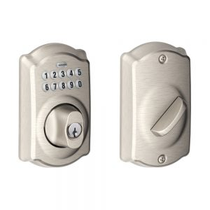 Schlage Lock Company Satin Nickel Camelot Lock
