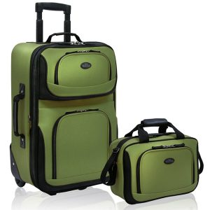 Traveler s Choice Rio Expandable Suitcase