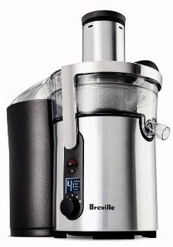 #7 Breville BJE510XL Juice Fountain Multi-Speed 900-Watt Juicer
