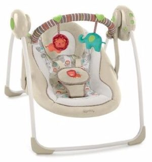 #7 Comfort & Harmony Cozy Kingdom Portable Swing