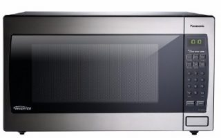 #7 Panasonic NN-SN966S Countertop/Built-In Microwave with Inverter