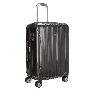 Delsey Helium Expandable Spinner Trolley Suitcase