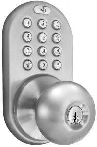 Milocks DKK 02SN Satin Nickel Electronic Lock