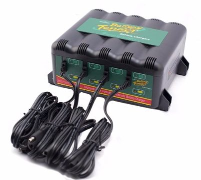 #8 Battery Tender 022-0148-DL-WH 12-Volt 4-Bank Battery Management System