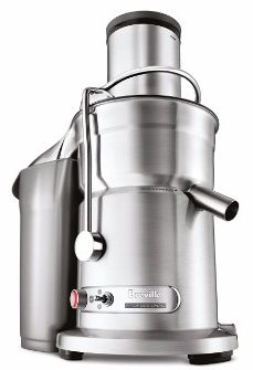 #8 Breville 800JEXL Juice Fountain Elite 1000-Watt Juice Extractor