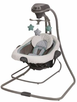 #8 Graco DuetConnect LX Swing and Bouncer