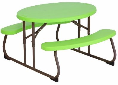 #8 Lifetime 60132 Children's Oval Picnic Table