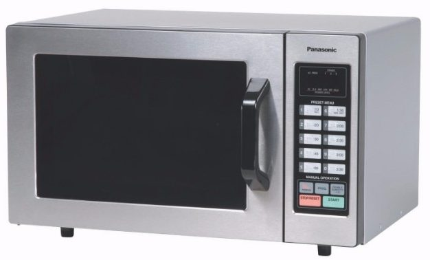 #8 Panasonic NE-1054F Stainless 1000W 0.8 Cu. Ft.