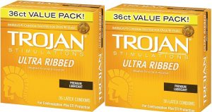 Trojan Ultra Ribbed Value Pack Condoms
