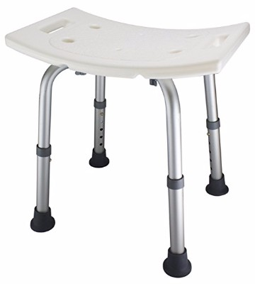 9 - Ez2care Adjustable Shower Bench