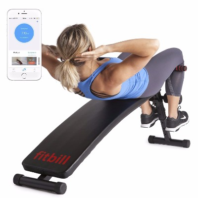 #9 Sit Up Decline Bench with Face Recognition Technology