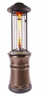 #9 The Lava Heat Italia Ember 51,000 BTU Propane (LP) Patio Heater.