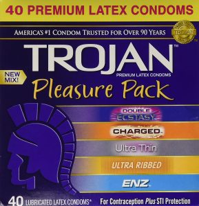 Trojan New Mix Premium Lubricated Condom
