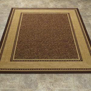 Ottomanson Ottohome Bordered Design Area Rug