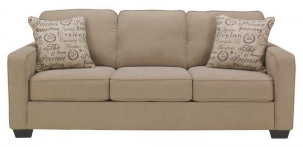 Ashley Furniture Signature Design - Alenya Sleeper Sofa with 2 Throw Pillows