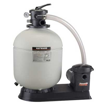 2. Hayward Pro Series S210T93S Top-Mount Above Ground Pool Sand Filter System with 1.5HP Matrix Pump
