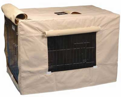 Best Dog Kennel Covers - Precision Pet Indoor/Outdoor Crate Cover
