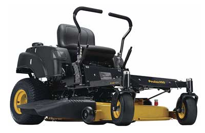8. P46ZX 46-Inch Briggs V-Twin Pro 22 HP Cutting Deck Zero Turn Radius Riding Mower from Poulan Pro