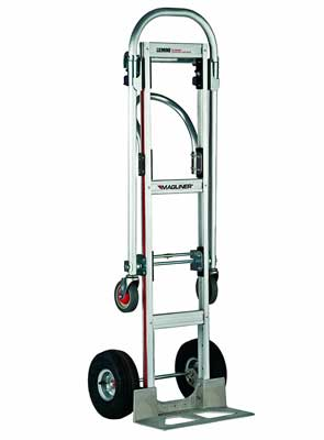 9. GMK81UA4 Gemini Sr Convertible Hand Truck, Pneumatic Wheels by Magliner