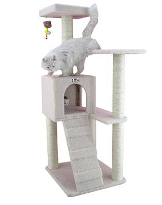 3. Cat Tree Furniture Condo, Height 50 Inch to 60 Inch by Armarkat