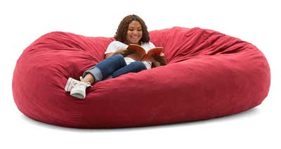 Big Joe XXL Fuf In Comfort Suede Giant Bean Bag