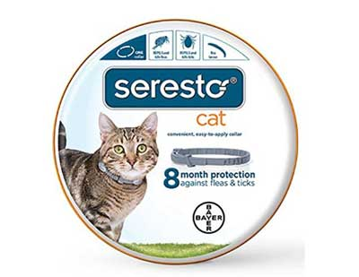 Best Flea Collars - Bayer Seresto Flea and Tick Collar for Cats