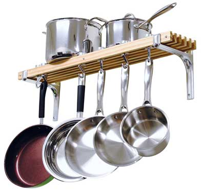 Best Ceiling Pot Rack - Cooks Standard Wall Mount Pot Rack