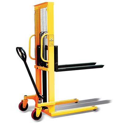 3. i-Liftequip PZ Series Hand Manual Stacker for Single Faced Skid Pallets