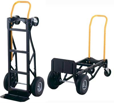 3. Nylon Convertible Hand Truck and Dolly with 10