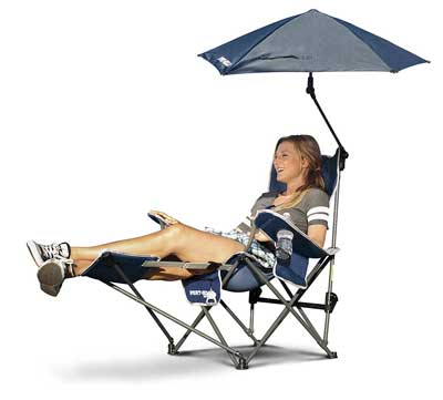 10. Sport-Brella Recliner Chair