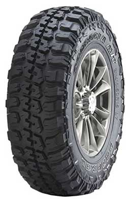 8. Federal Couragia M/T Mud-Terrain Radial Tire Model LT235/75R15