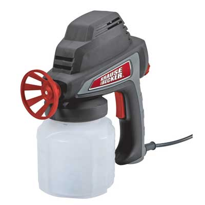 10. Electric Paint Spray Gun with Durable 24 Oz. Polypropylene Paint Cup by Krause & Becker