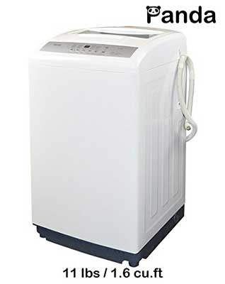 9. Panda Small Compact Portable Washing Machine Fully Automatic