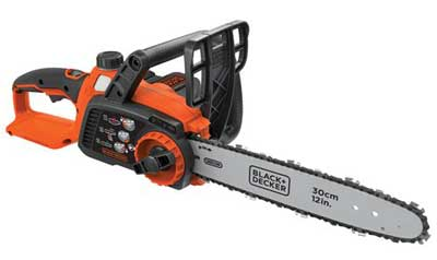5. BLACK & DECKER LCS1240 12 Inch Chain Saw