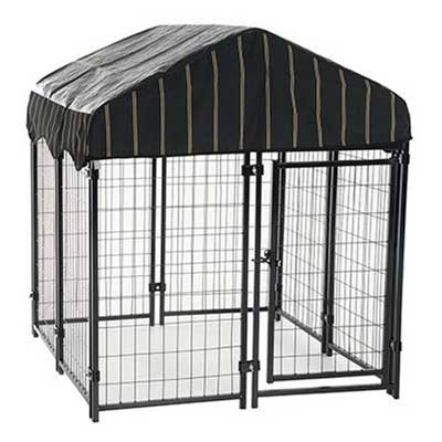 7. Lucky Dog Uptown Welded Wire Kennel