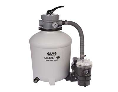 5. GAME Complete 0.75HP Replacement Pool Sand Filter Unit For Intex & Bestway Pools
