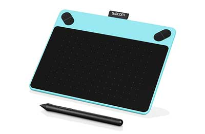 2. Wacom Intuos Draw CTL490DB Digital Drawing and Best Graphic Design Tablet