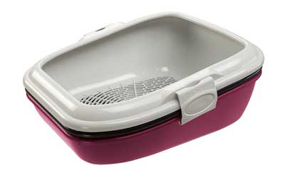 8. Birba Cat Litter Tray by Ferplast