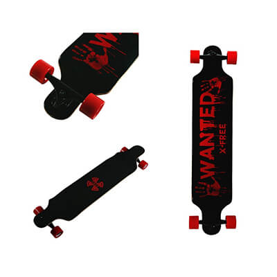 Xtreme Free professional speed drop down complete longboards