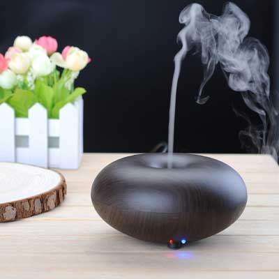 3. BlueFire Electric Ultrasonic Humidifier Aroma Diffuser Essential Oils Diffuser Humidifier