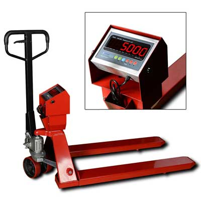 10. New Prime Scales PS-5000PJ Pallet Truck Scale, Pallet Jack Scale